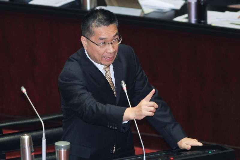 20191004-內政部長徐國勇出席立院9屆8會期備詢。(蔡親傑攝)
