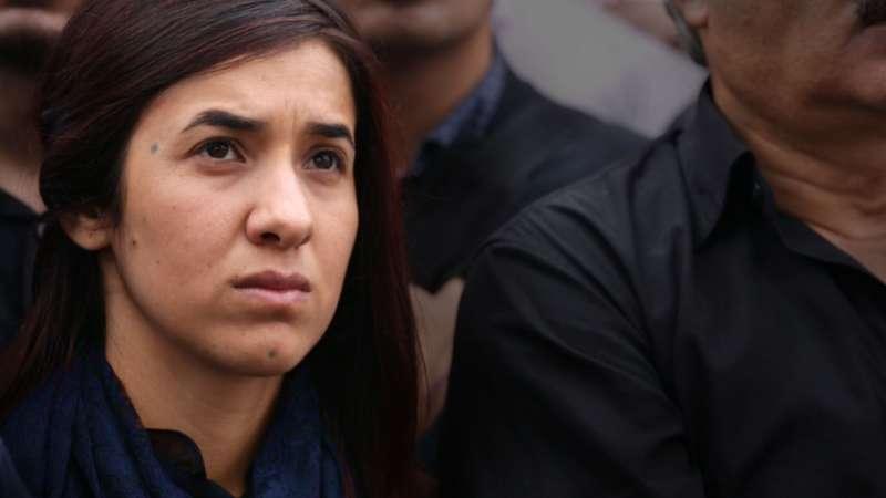 紀錄片《倖存的女孩》講述「亞茲迪」(Yazidi)女孩穆拉德如何勇敢克服痛苦回憶,呼籲聯合國會員國的領導人看見亞茲迪人的困境。(台灣國際女性影展提供)