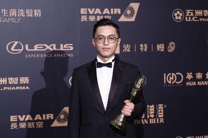 20191005-2019電視金鐘獎,戲劇節目導演獎林君陽《我們與惡的距離》。(陳品佑攝)