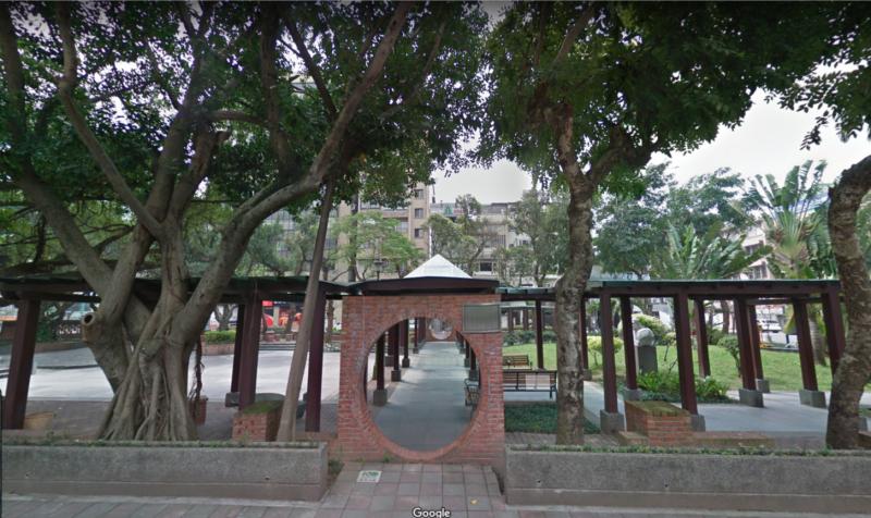 20191007-國發會於2015年針對松江詩園以及南京松江捷運站共構部分,提出了國發辦公大樓的興建計畫,2016年卻停止預算編列。圖為松江詩園。(取自Google地圖)