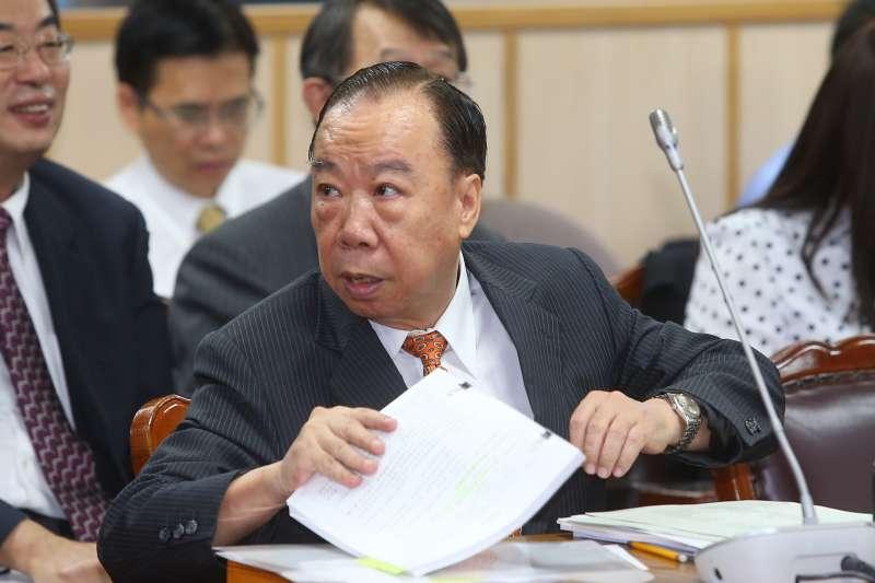 20191007-高檢署檢察長王添盛7日出席立院司法法制委員會。(顏麟宇攝)
