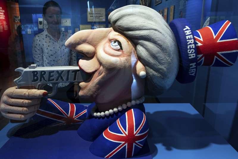 英國脫歐歹戲拖棚。(AP)