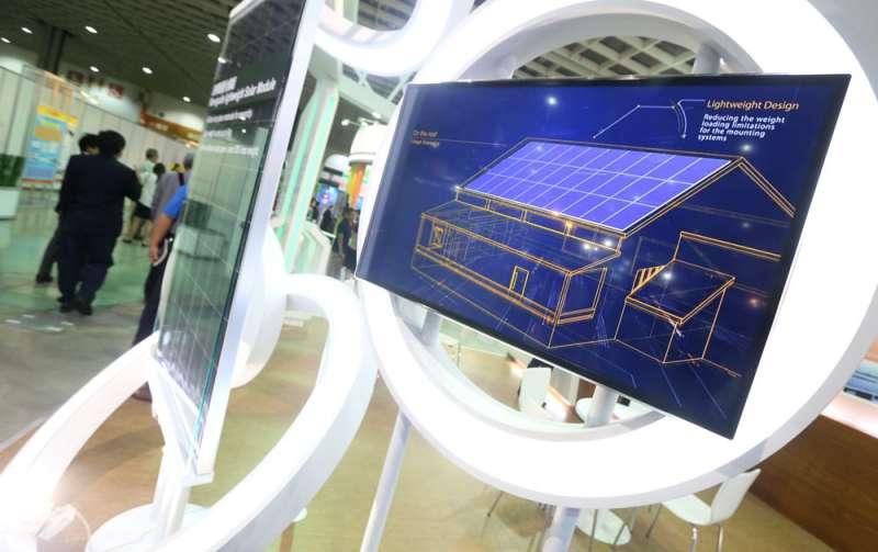 每發1000度綠電所獲得的綠電憑證,增加一般企業購買綠電的意願。(柯承惠攝)