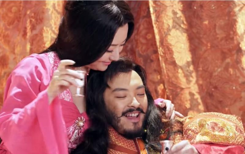 皇帝、宮廷、享樂。(截圖自永樂視頻官方頻道youtube)