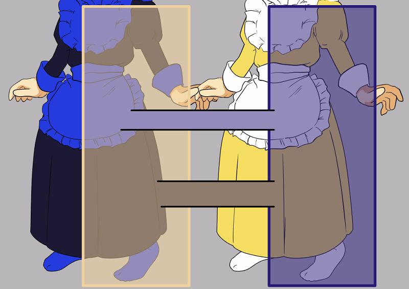 連衣裙可依兩種方法理解: * 黃色照明下的黑色和藍色連衣裙(左圖)或 * 藍色照明下的白色和金色連衣裙(右圖)(維基百科)