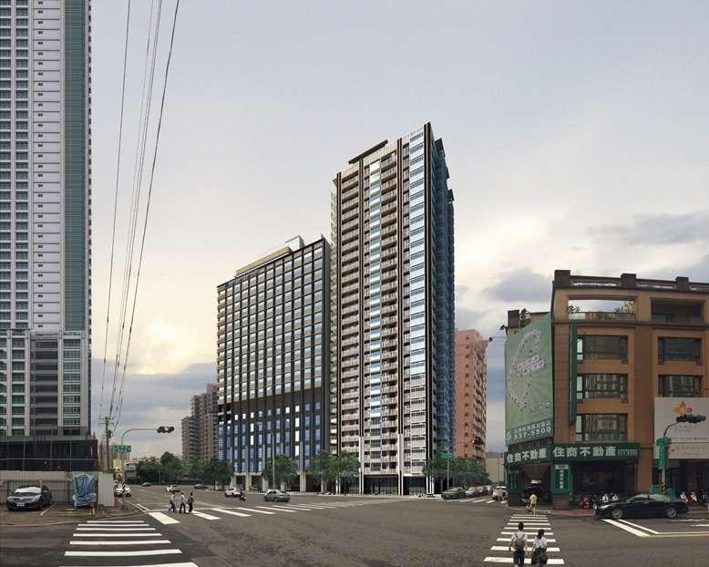 大和房屋興建飯店模擬圖。(圖/高市政府提供)
