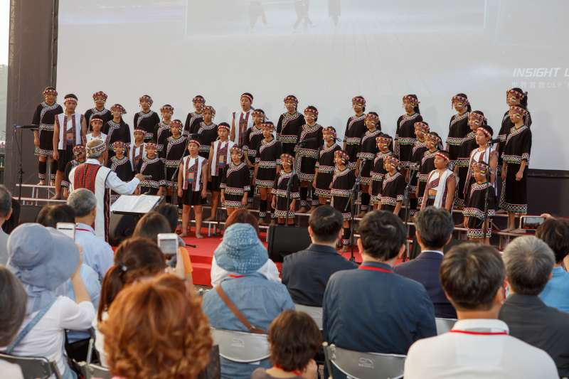 放映會邀請台灣原聲童聲合唱團演出。(圖/台達基金會提供)