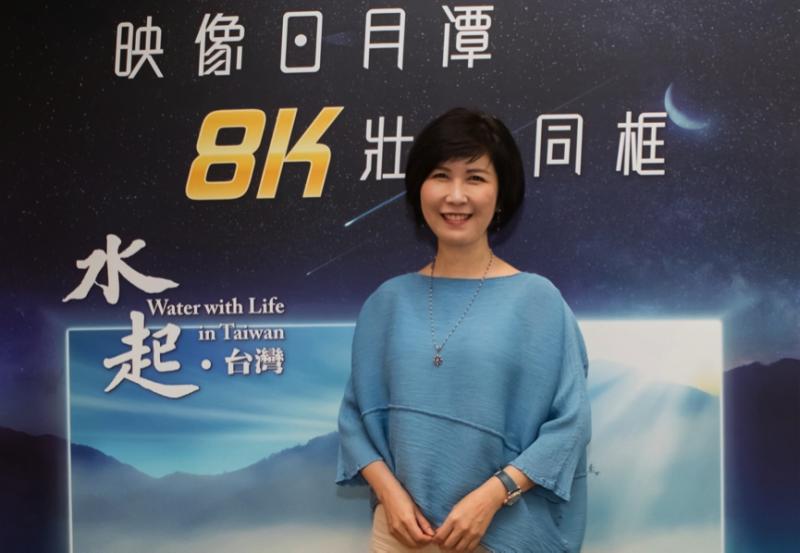 圖說:「映像日月潭《水起.台灣》壯觀同框」公益放映會採用當今最高畫質的投影技術,是全球規模最大的8K戶外投影放映會(圖 / 台達Delta粉絲團)