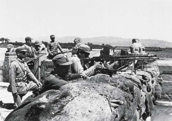 中日戰爭爆發後,日本人對台灣人的民族認同感到相當敏感。(圖/維基百科)
