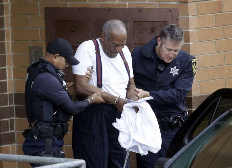 「天才老爹」巨星柯斯比被判有罪,將面臨3至10年徒刑。(AP)