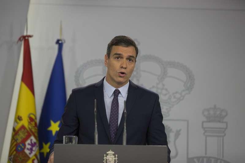 9位加泰隆尼亞獨立運動領袖遭西班牙最高法院重判9至13年徒刑,西國總理桑切斯支持法院判決。(AP)
