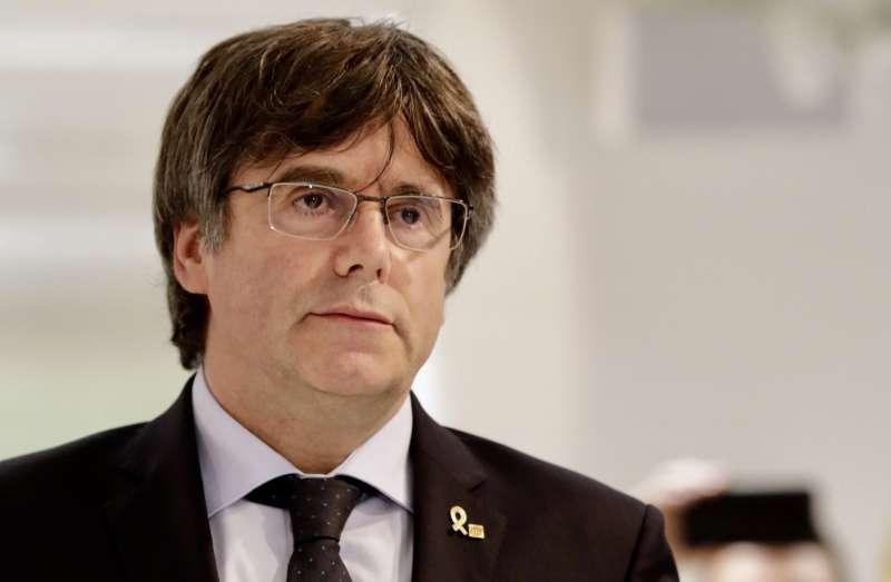 西班牙最高法院重判9位加泰隆尼亞獨立運動領袖9至13年徒刑,並要求比利時將流亡的前自治政府領袖普吉德蒙引渡受審。(AP)