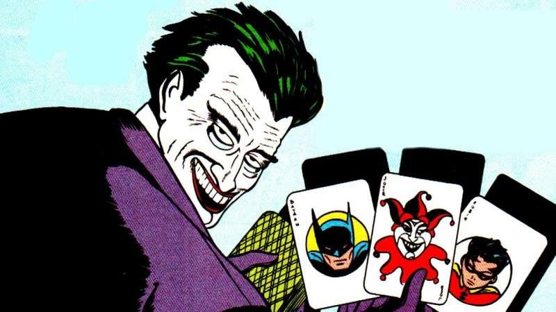 Bob Kane 繪製的小丑。(圖/DC FILM SCHOOL)