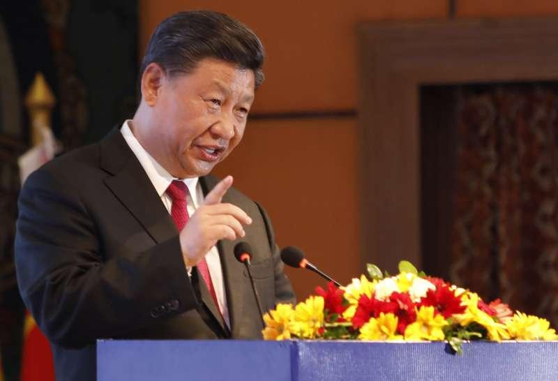 中國國家習近平出訪印度及尼泊爾。(AP)