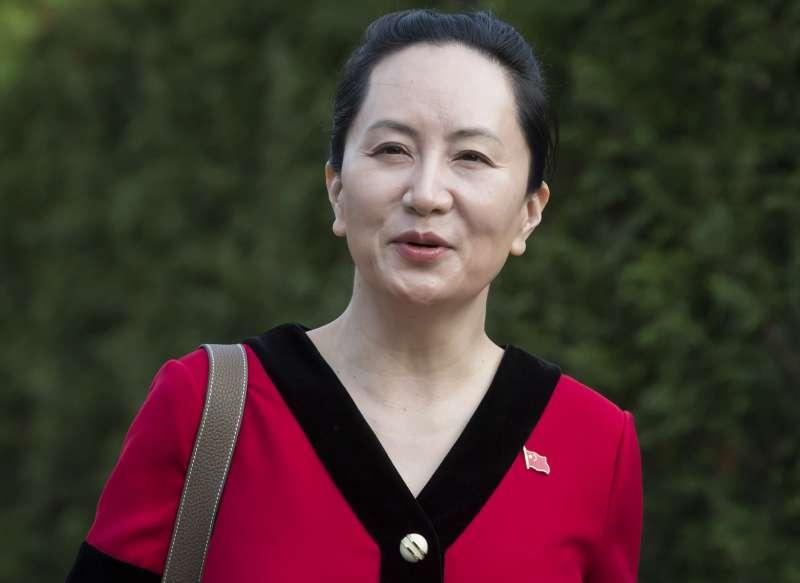 中國華為副董事長孟晚舟(AP)