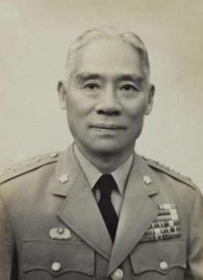 蔣介石的愛將、司令長官顧祝同。(圖/維基百科)