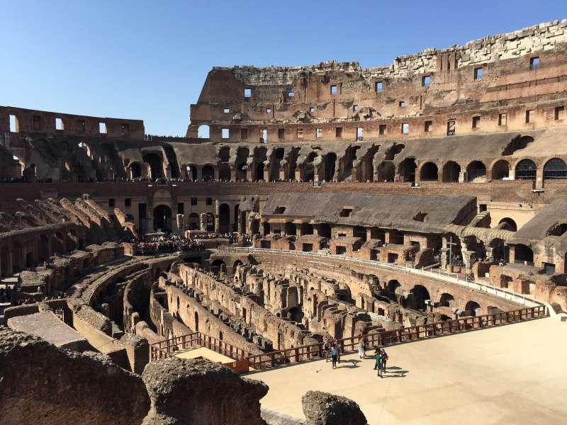 羅馬競技場。(圖/pixabay)