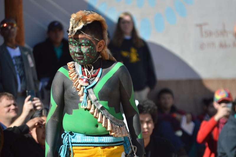 新墨西哥州慶祝第一個原住民日。(美聯社)