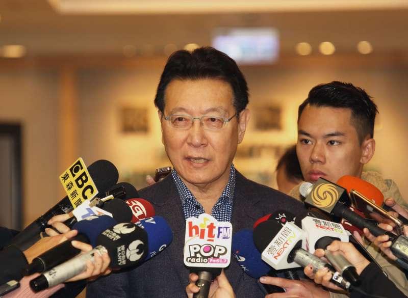 趙少康力抗黨產會,使出了各種招式,包括司法提告。(柯承惠攝)