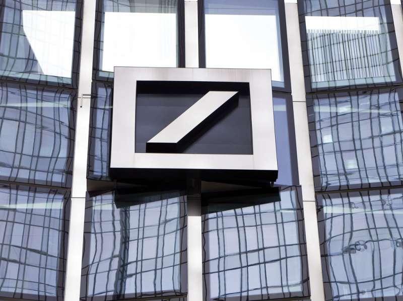 德國最大銀行德意志銀行。(AP)