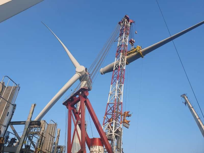 20191016-風數據/綠能專題。離岸風電。(上緯提供)