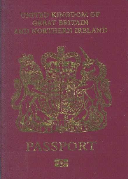 英國國民(海外)護照(取自維基百科)