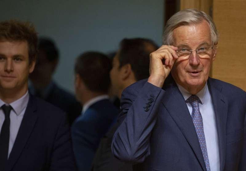 法國籍的歐盟脫歐談判代表巴尼耶(Michel Barnier)。(AP)