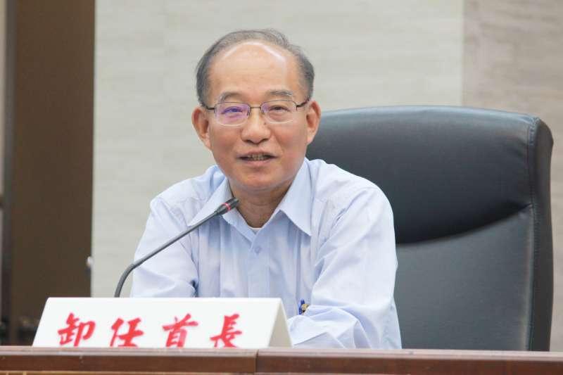 台北新祕書長張哲揚卸任,即將轉任民眾黨擔任祕書長。(方炳超攝)