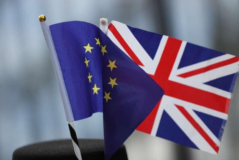 英國脫歐。(AP)
