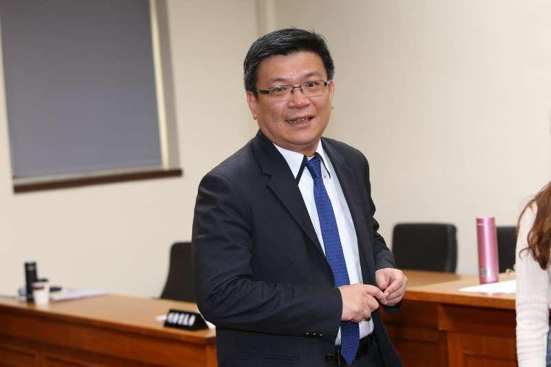 20191017-經濟部次長曾文生17日出席經濟委員會。(顏麟宇攝)
