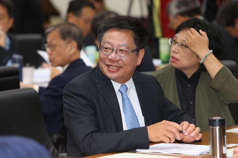 20191017-台杉總經理翁嘉盛17日出席經濟委員會。(顏麟宇攝)
