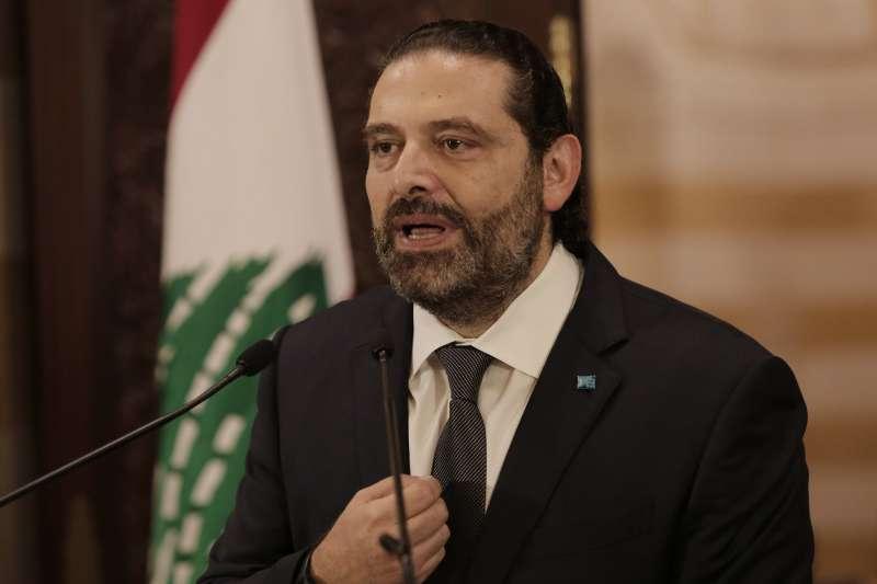 黎巴嫩爆發嚴重示威,總理哈里里表示,已經要求執政聯盟72小時內想出振興經濟辦法。(AP)