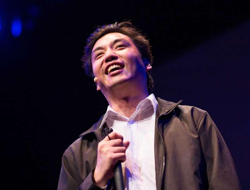 李秉宏是台灣第一位盲人律師 (取自TEDxTaipei)