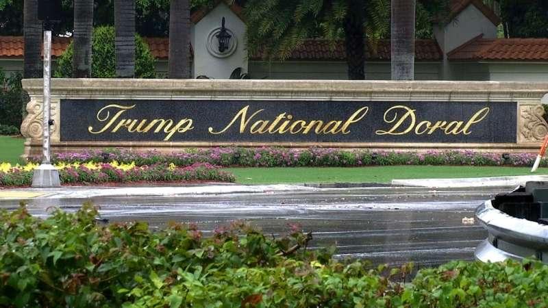 美國總統川普10月19日晚間宣布,明年的G7峰會將不會在川普國家朵瑞爾高爾夫俱樂部登場。(AP)