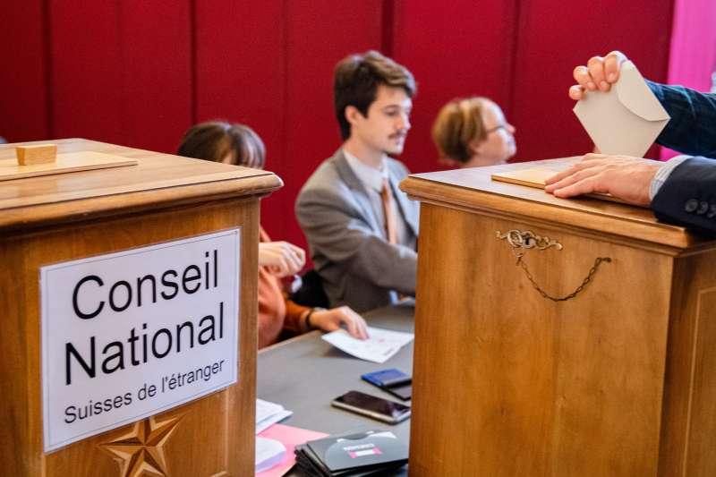 瑞士國會大選20日舉行,初步預測結果指出,綠黨得票率大幅上升(美聯社)