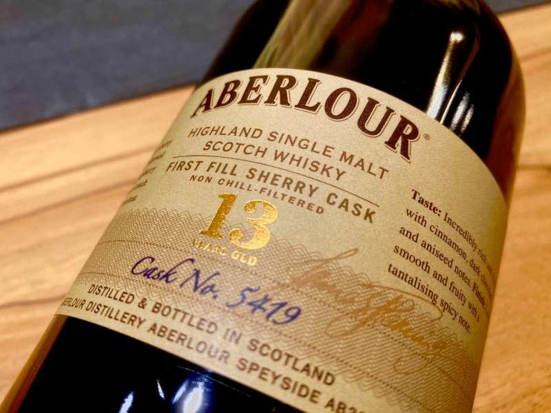 亞伯樂13年台灣限定版是非冷凝過濾的原酒。(圖/作者提供)