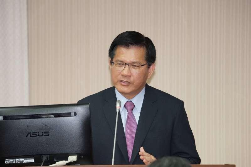20191023-交通部長林佳龍23日出席交通委員會備詢。(盧逸峰攝)