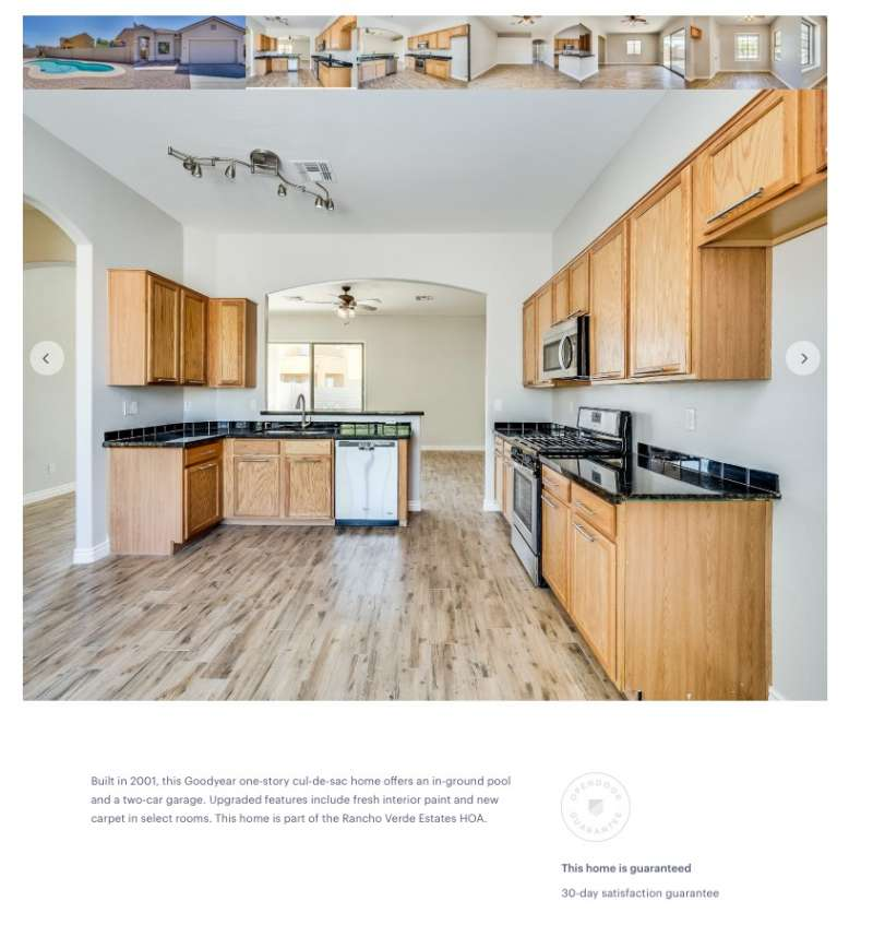 亞利桑那州鳳凰城整修好的大房子,非常令人心動(圖/Opendoor)
