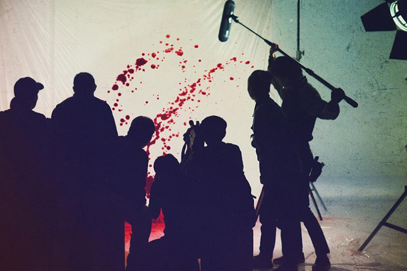 《在無愛之森放聲吶喊》劇照。(圖/IMDb)