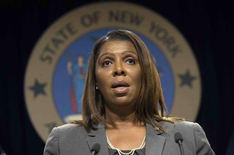紐約州檢察長詹樂霞(Letitia James)率先對臉書展開反托拉斯調查。(AP)