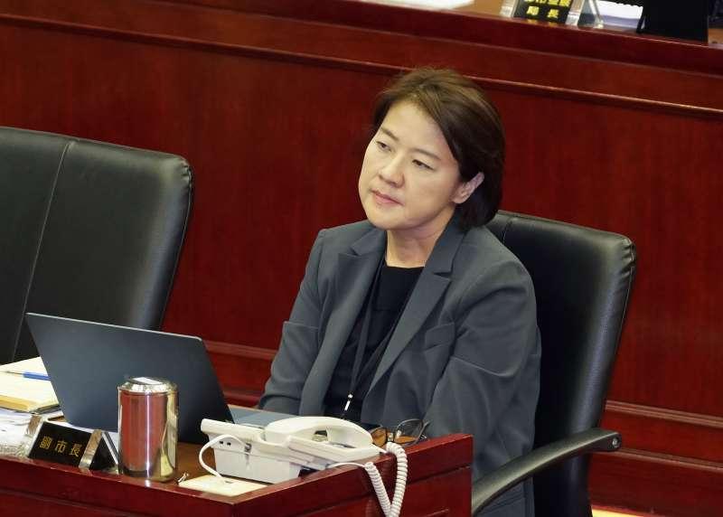 20191024-台北副市長黃珊珊24日赴市議會報告並備質詢。(盧逸峰攝)