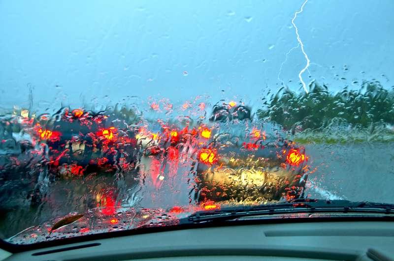 極端氣候導致的天災型車損機率愈來愈高。(圖/車訊網)