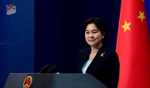 中國外交部發言人華春瑩。(翻攝網路)