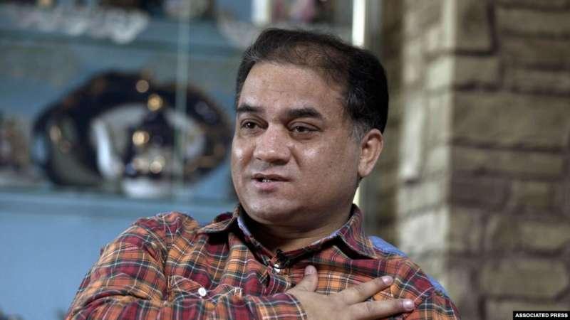 被判無期徒刑的維族學者伊力哈木・土赫提。(美聯社)