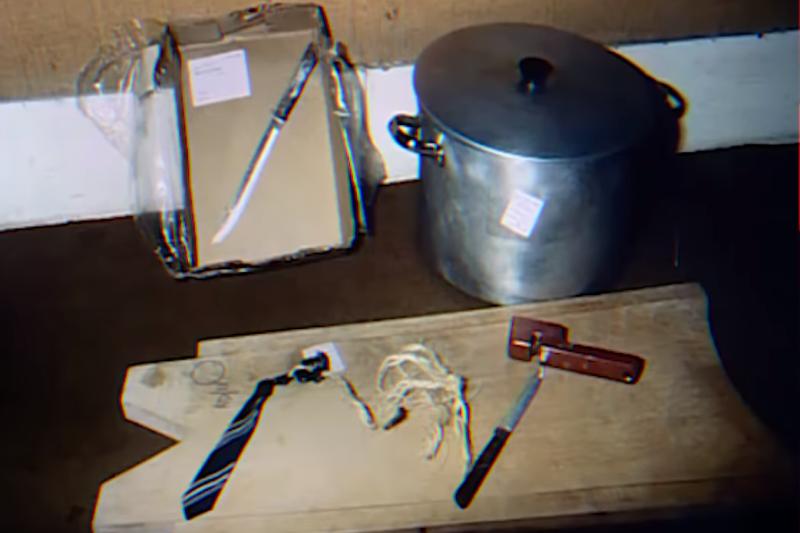 尼爾森的作案工具。(圖/截自Youtube)
