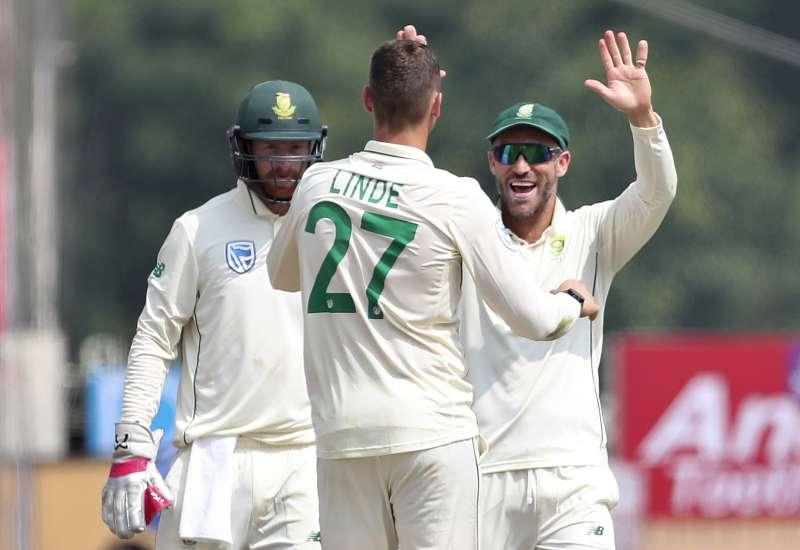 南非國家板球對隊長普萊西斯。(AP)