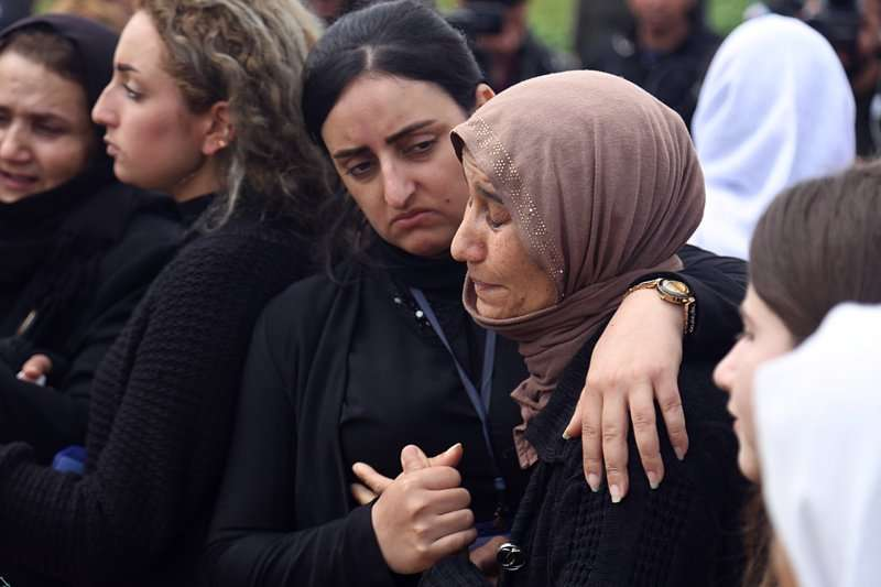 亞茲迪人遭伊斯蘭國聖戰士屠殺。(AP)