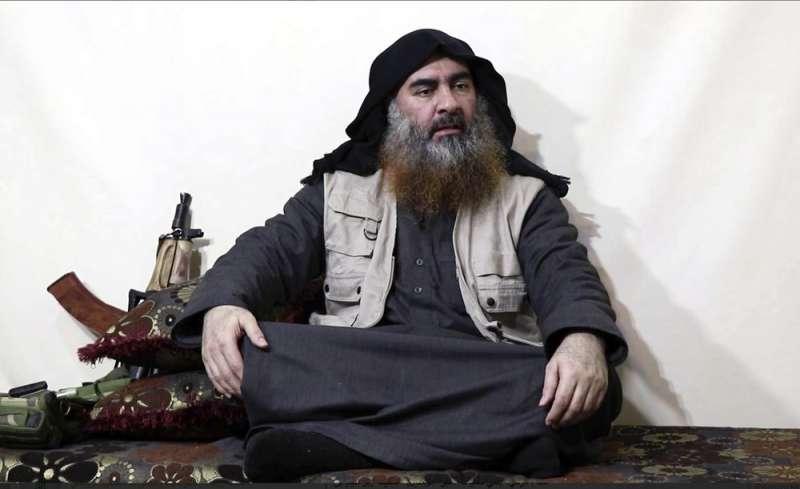 伊斯蘭國首領巴格達迪自爆身亡。(AP)