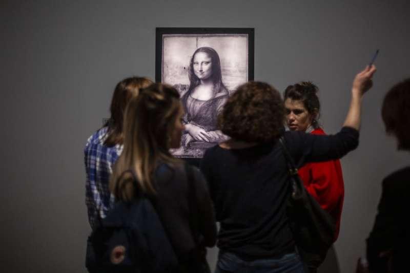 達文西是文藝復興三傑之一,其作品也價值不菲。(AP)