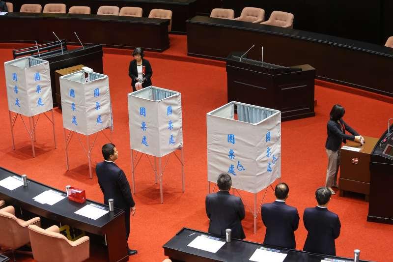 20191029-立法院29日針對中選會委員同意權案進行投票。(顏麟宇攝)